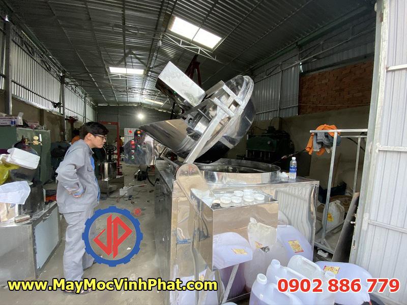 Máy chiên công nghiệp cho sản xuất da cá basa chiên giòn tẩm gia vị