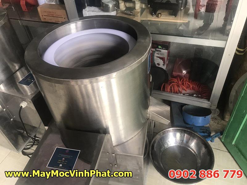 Test máy ly tâm tách dầu cho da cá ba sa chiên giòn tại văn phòng Vĩnh Phát