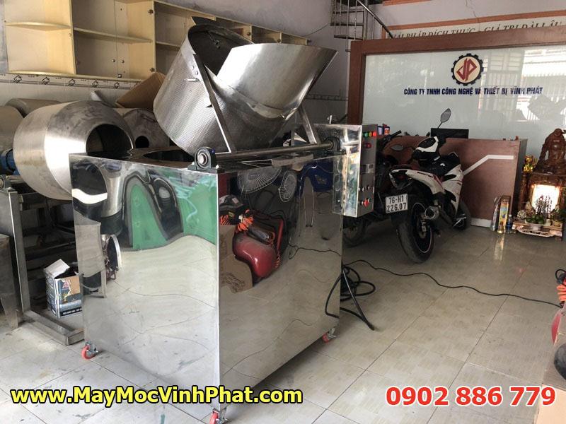 Bếp chiên công nghiệp bằng điện, máy chiên tự động Vĩnh Phát giá rẻ