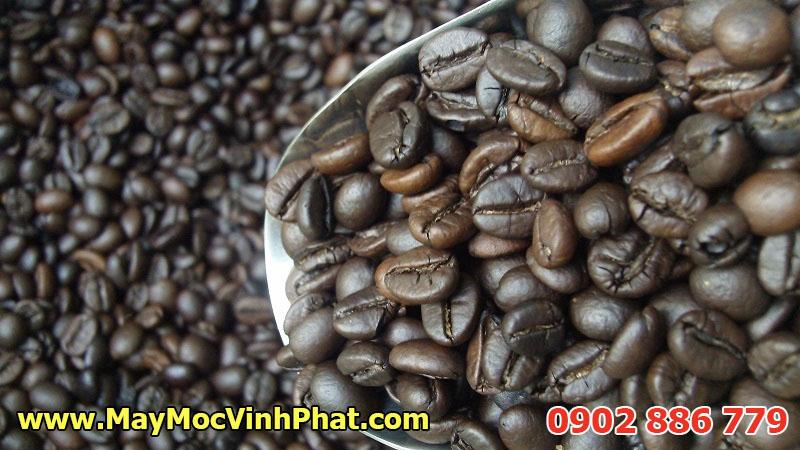 Máy rang hạt công nghiệp, máy rang cà phê Vĩnh Phát chất lượng cao