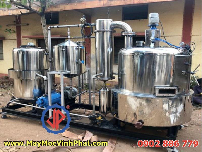 Máy chiên chân không công nghiệp Vĩnh Phát, giải pháp bếp chiên hiện đại, hiệu quả, tiết kiệm
