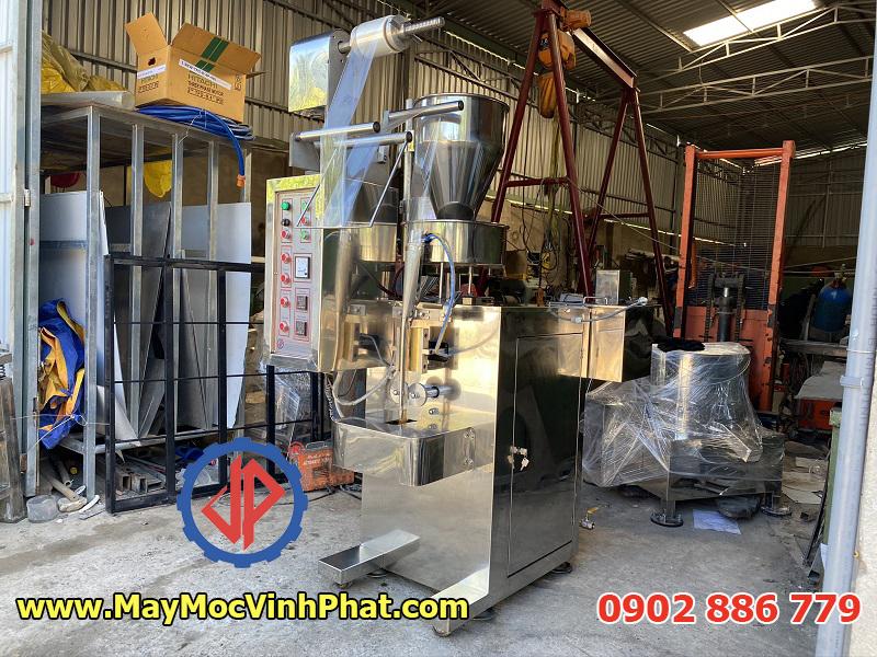 Máy đóng gói tự động 2 trong 1 Vĩnh Phát cho cả dạng bột hạt và lòng sệt