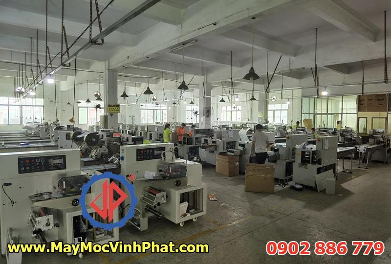 Các máy đóng gói dạng nằm thường có sẵn ở kho