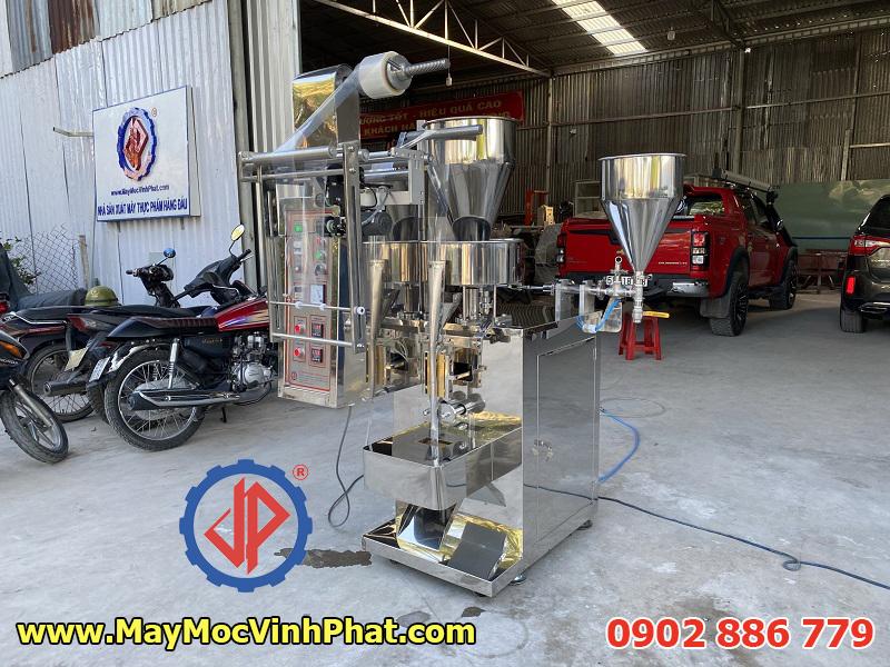 Máy đóng gói sữa chua que và bột ngũ cốc 2 trong 1 Vĩnh Phát chế tạo