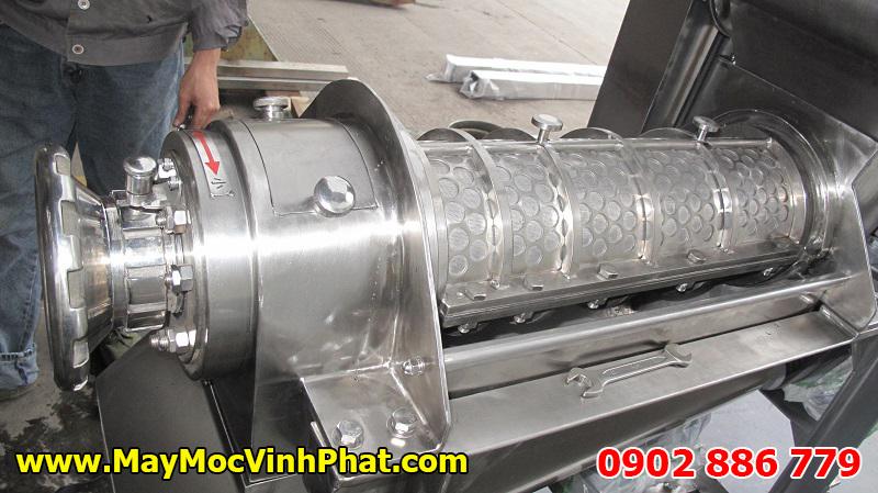 Lồng bên trong của máy ép nước trái cây công nghiệp kiểu máy ép trục vít