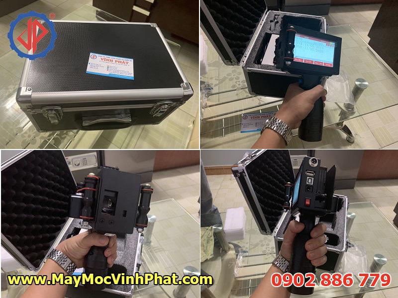 Hình ảnh máy in hạn sử dụng cầm tay, máy in phun date nhập khẩu bởi Vĩnh Phát