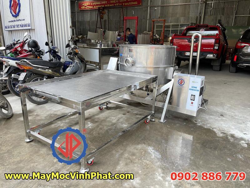 Máy rửa ruột hàu dạng sục khí chuyên dụng