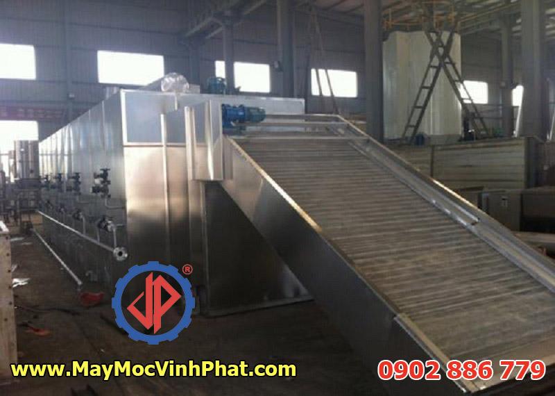 Máy sấy băng tải tự động, máy sấy công nghiệp Vĩnh Phát chất lượng cao
