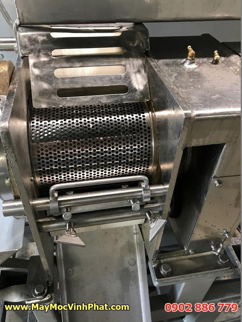 Cấu tạo máy tách xương cá Inox của Vĩnh Phát