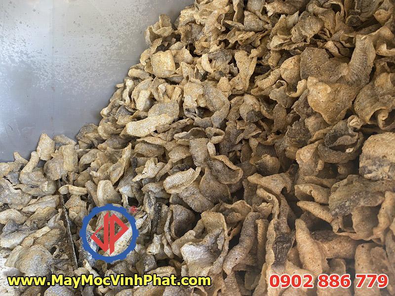 Máy trộn gia vị sản xuất da cá basa chiên giòn đem lại giá trị tuyệt vời