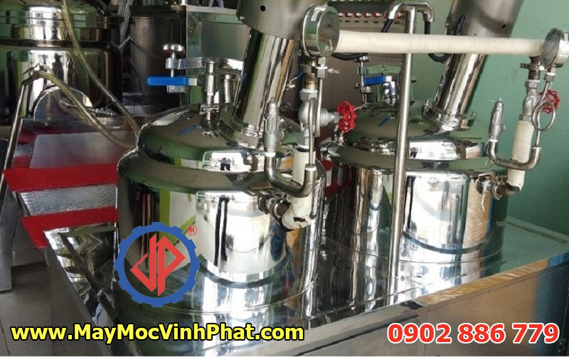 Đa dạng model máy trộn nhũ hóa chân không mỹ phẩm, chất lượng, giá rẻ nhất Việt Nam