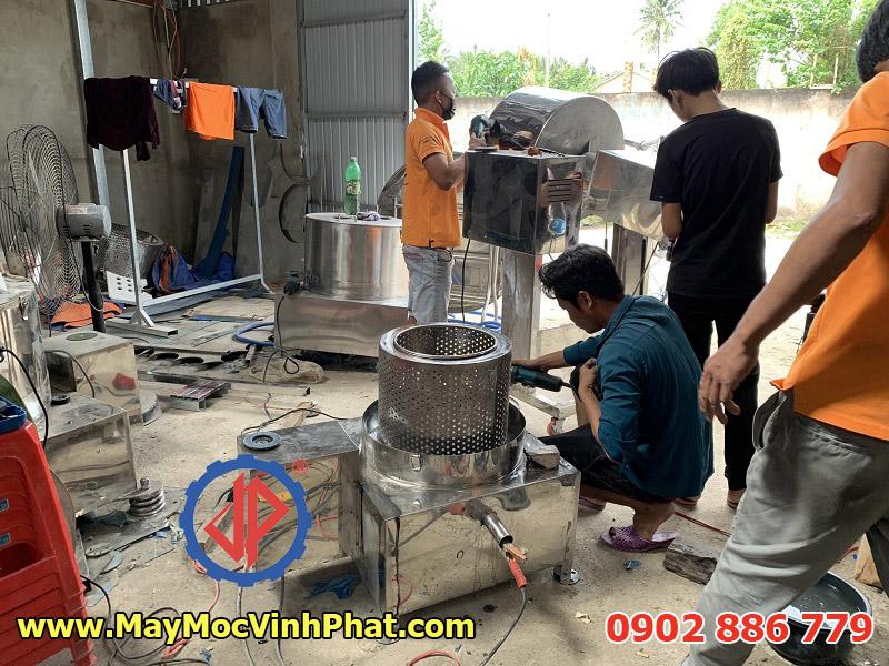 Vĩnh Phát sản xuất máy vắt ly tâm inox ngày tại xưởng ở quận 9