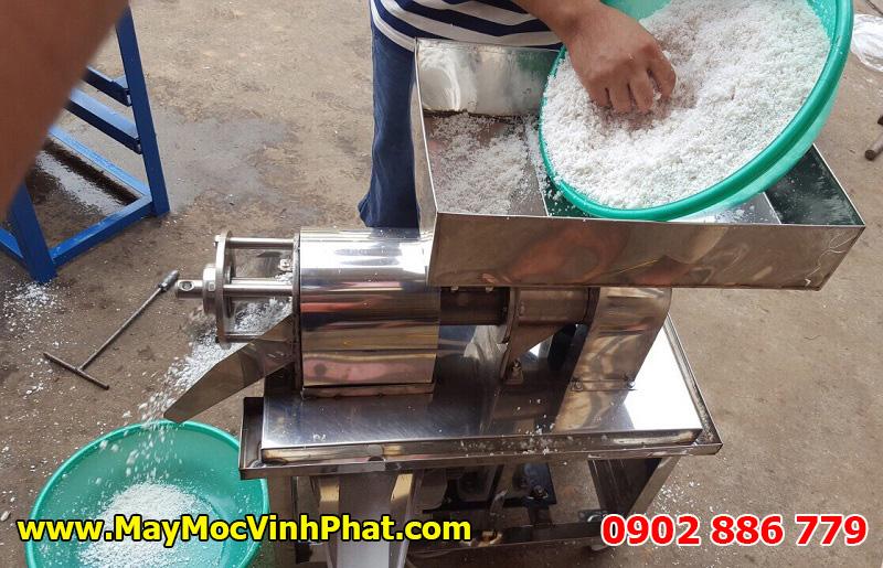 Máy ép nước cốt dừa Vĩnh Phát giá rẻ, chất lượng cao, hiệu quả tốt