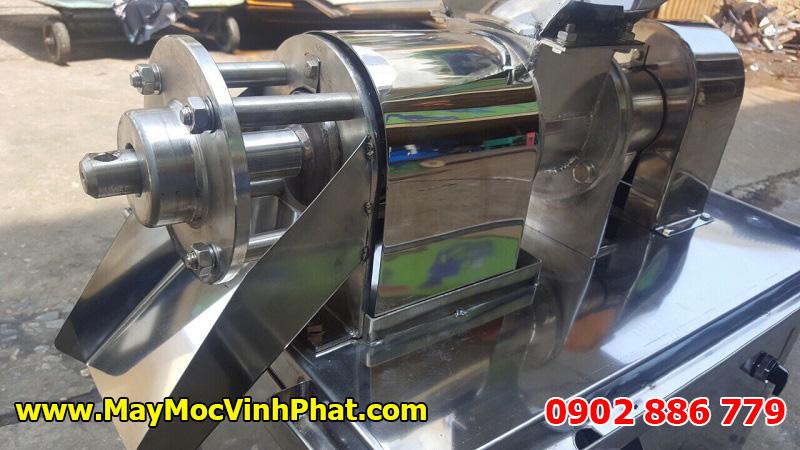 Máy ép nước cốt dừa, trái cây công nghiệp Vĩnh Phát sản xuất 100% tại Việt Nam