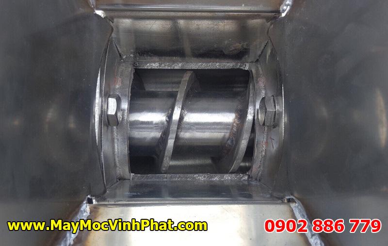 Trục vít bên trong của máy ép nước cốt dừa, máy ép nước trái cây công nghiệp