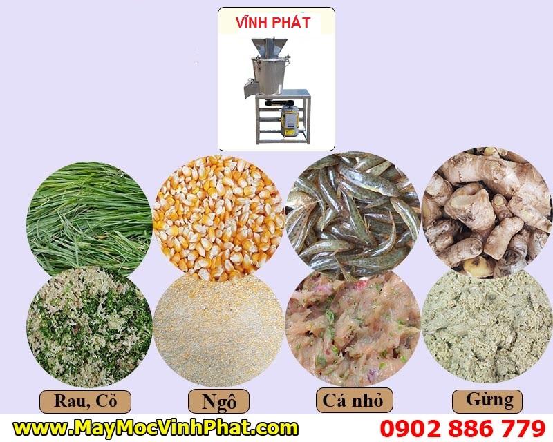Ứng dụng đa năng của máy nghiền công nghiệp Vĩnh Phát