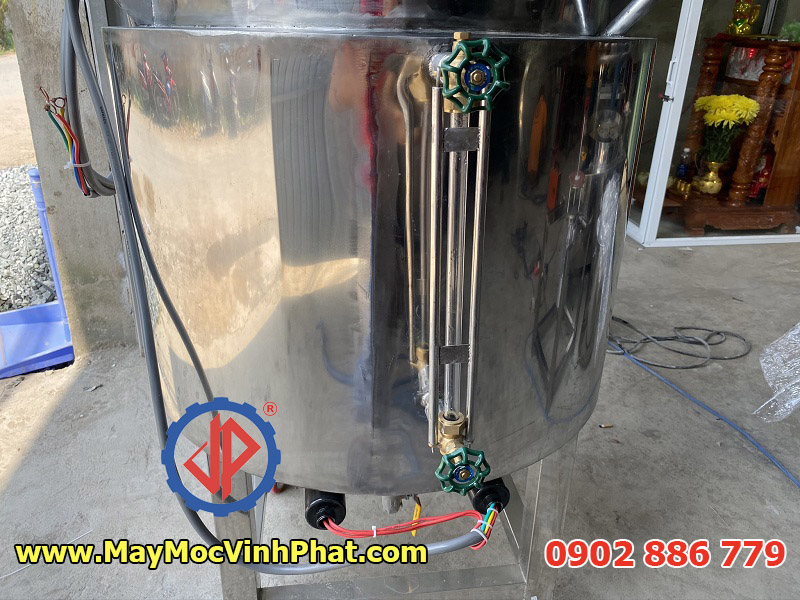 Ống thủy đo mức dầu của nồi nấu gia vị, máy cô đặc dung dịch Vĩnh Phát